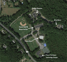 Town Campus Site Map