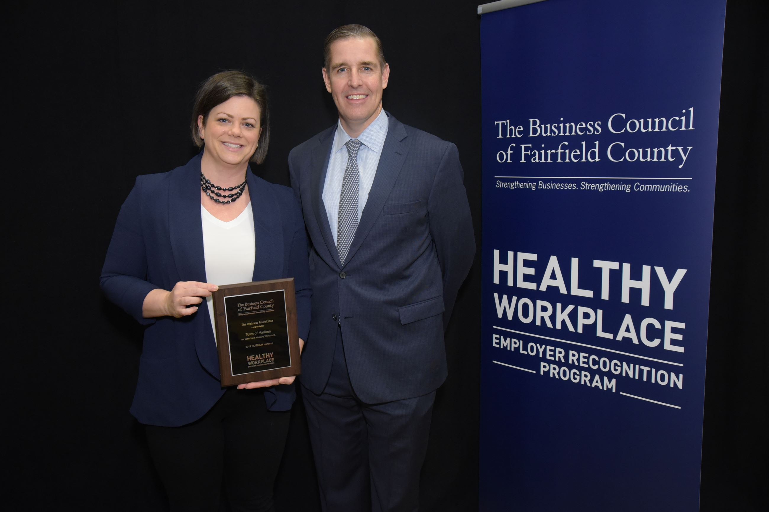 Town of Madison  Health  Wellness Award - Paula Carabetta