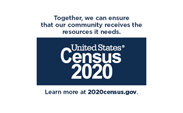 Together we can ensure that our community receives the resources it needs. US Census 2020