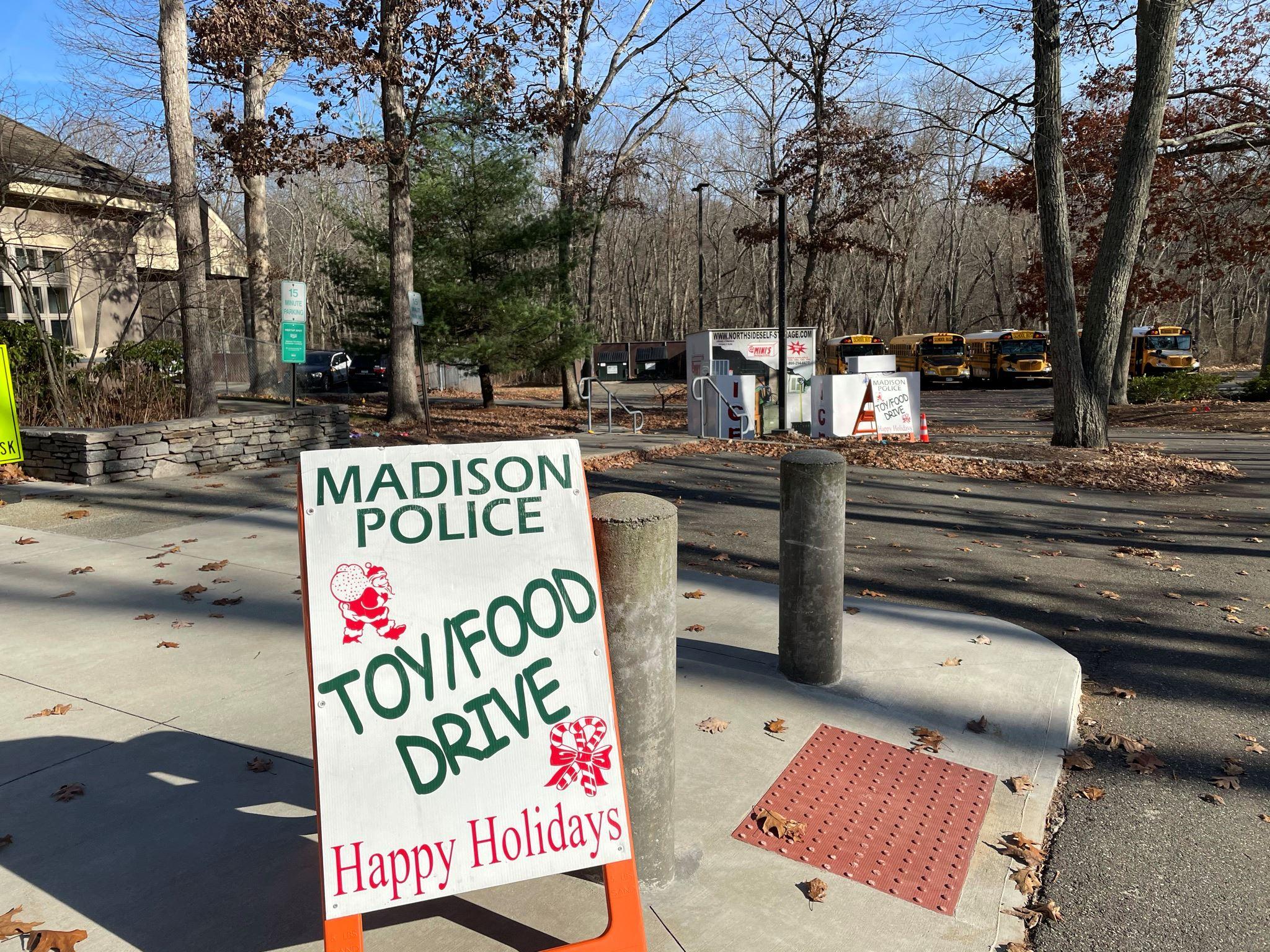 Madison Police Toy and Food Drive