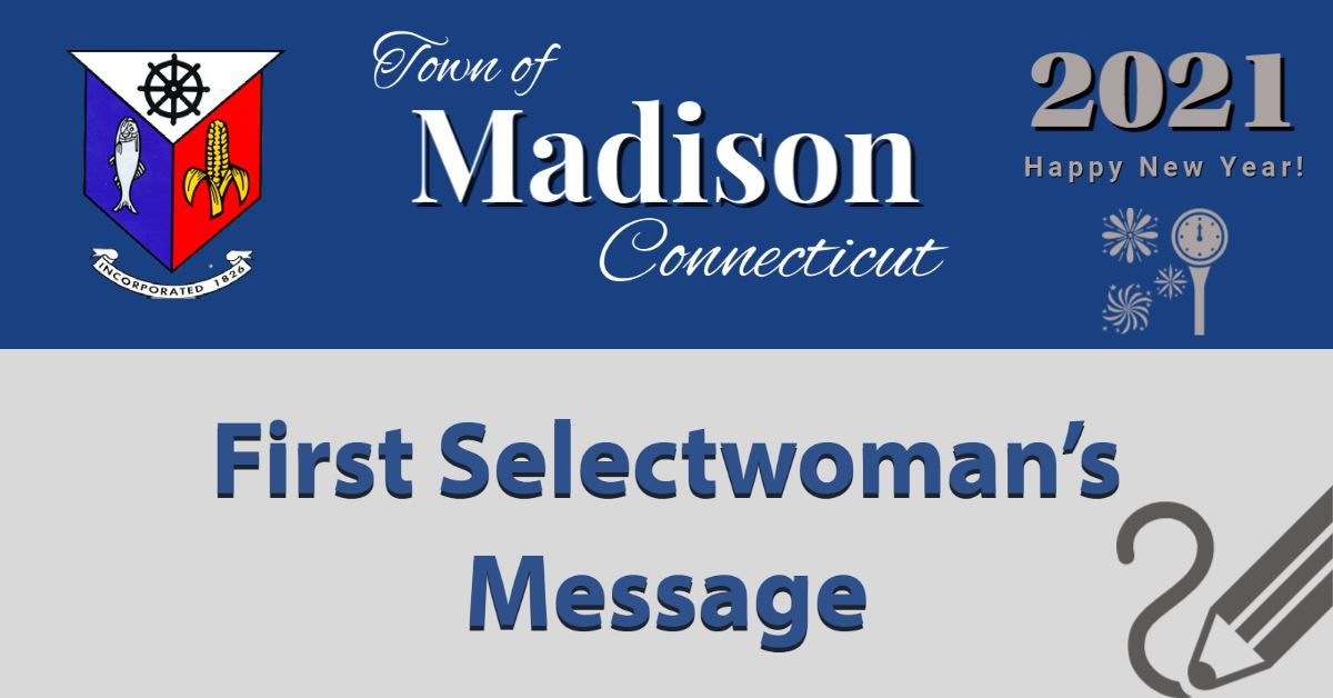 1st Selectwoman Message Happy New Year