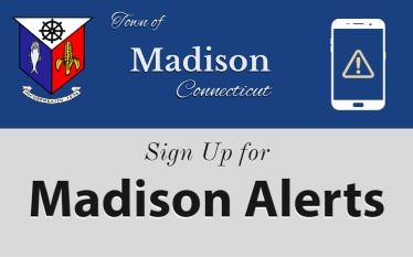 Madison Alerts homepage signup