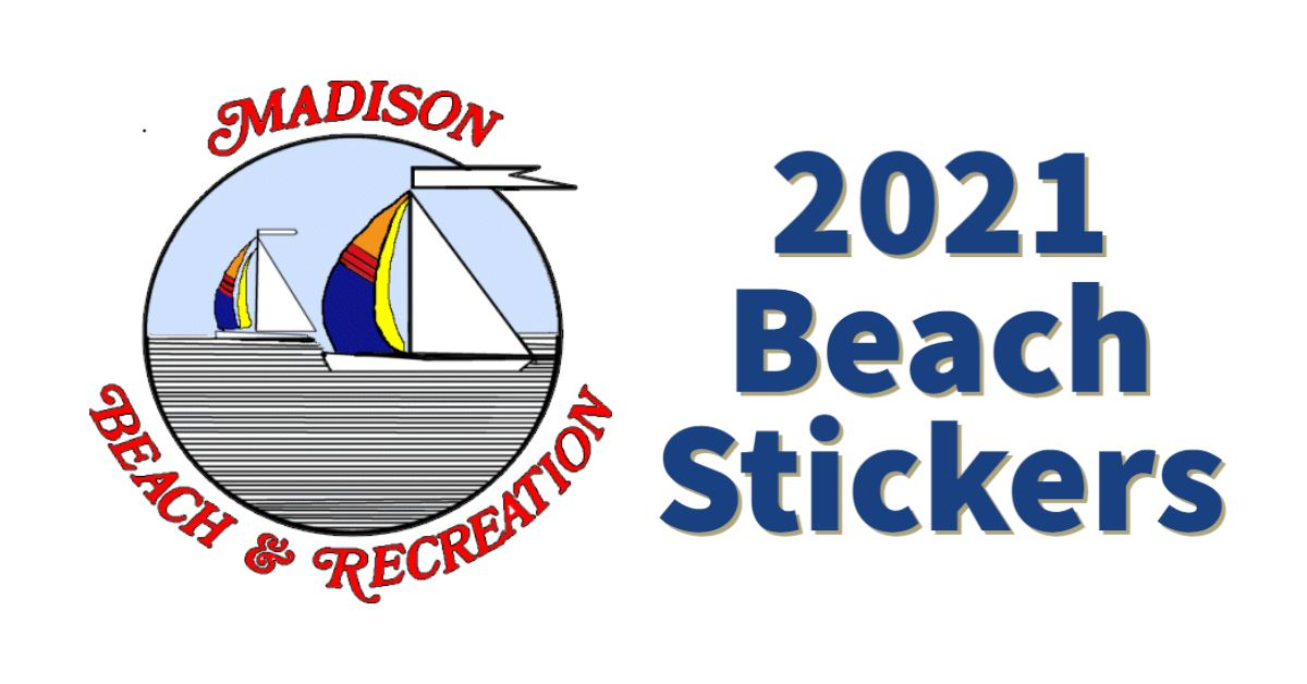 2021 Beach Stickers